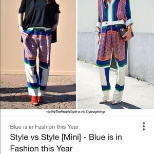In search of celine pants