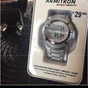 New w/tag ARMITRON pro-sport water resistant watch