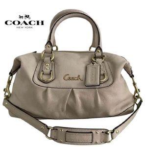 Coach Ashley Leather Satchel bag