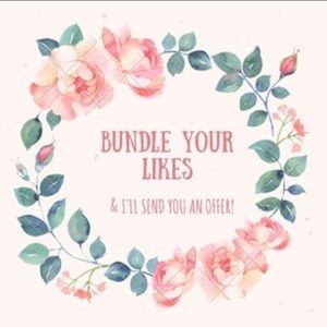 Accessories - Bundle your likes for a special offer!