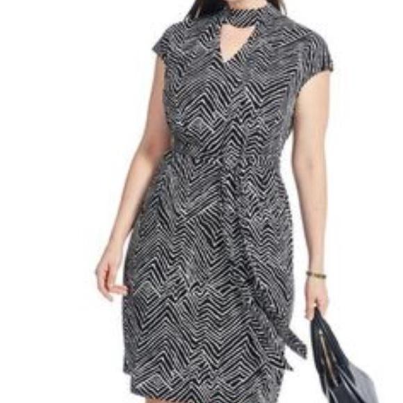 INC International Concepts Dresses   Plus Size Zig Zag Dress   Poshmark
