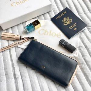 Chloe EVA Continental Wallet
