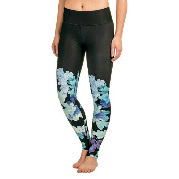 8a230a17c1e9da Kyodan Pants | Floral Bloom Yoga Leggings | Poshmark