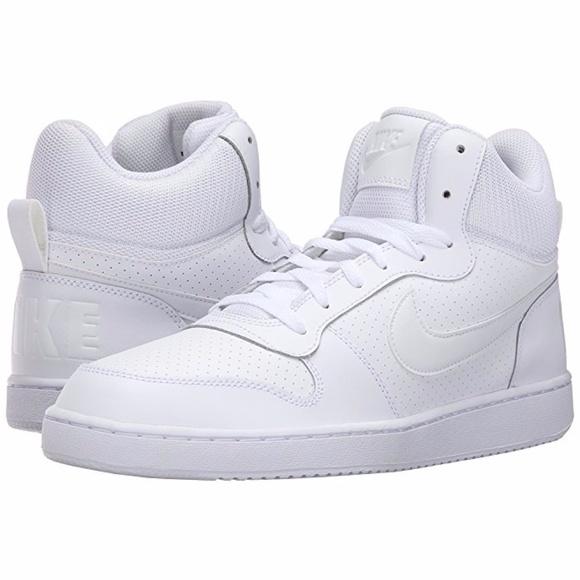 baacd7bdbdfbe Nike Shoes | Basketball Court Borough Mid White New | Poshmark