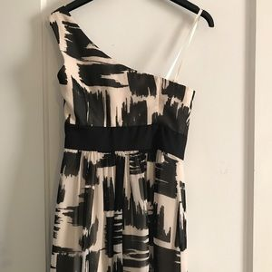 BCBG Dresses - BCBG Black and White Cocktail Dress