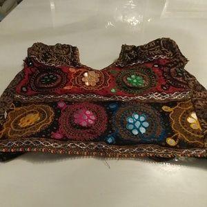 Tops - Arabian handmade belly dance top