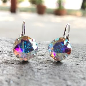 Jewelry - Handcrafted earrings with Swarovski crystal #238