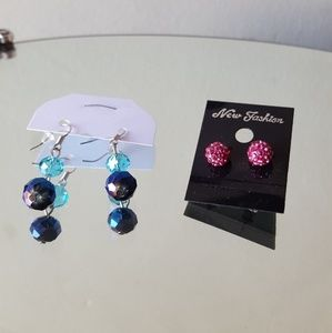 Jewelry - 💖 Brand New Fashion Earrings Crystals
