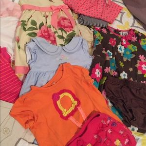 6 to 9 month baby girl bundle.