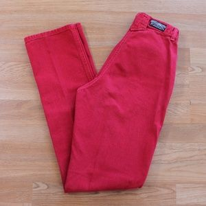 Vintage Red Rocky Mountain Jeans