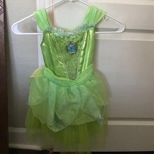 Disney Costumes - Disney Store- Tinkerbell costume w/ light up wings & Disney Costumes | Store Tinkerbell Costume W Light Up Wings | Poshmark
