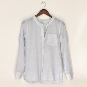 Madewell striped shirt size S