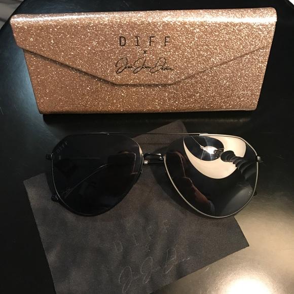 05b2545c88fc5 Diff Eyewear Accessories - JJD - matte black frame - solid grey lens!