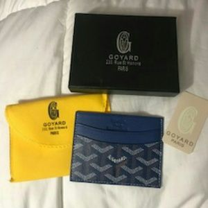 Other - Blue Goyard Card ID holder