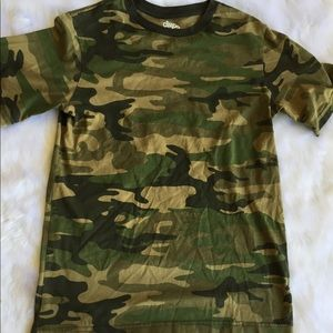 Tops - Camouflage tee