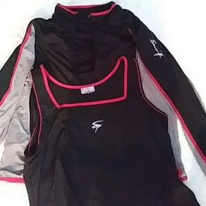 $Seven 7 Gym black /grey /red. USED.     #24