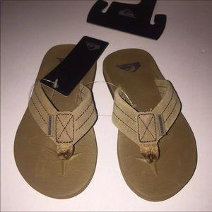 Boys Quicksilver Sandals NWT
