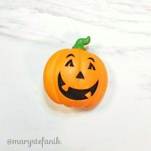 !SALE! {Vintage} Pumpkin Jack O'Lantern Pin Brooch