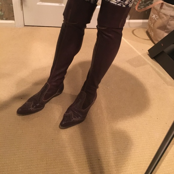 Henry Beguelin Over The Knee Boots