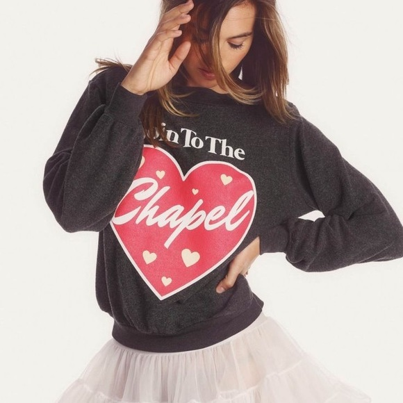 2522586cc9d44 Wildfox Goin to the Chapel Sweatshirt. M 5994e59c4e95a35795005d75