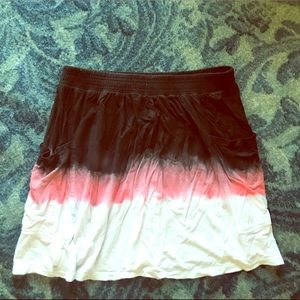Color Block Dyed Skirt