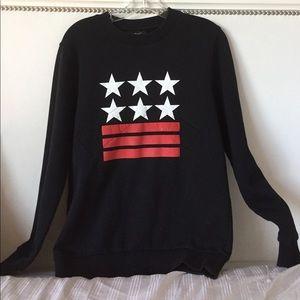 e9c82c9f0604 Givenchy Sweaters - GIVENCHY stars and stripes sweatshirt
