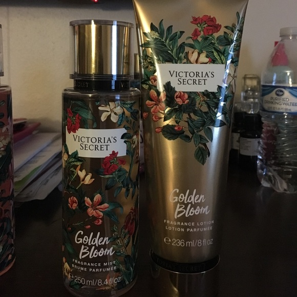 87f9b284090 Victoria Secret Golden bloom Body Spray   lotion