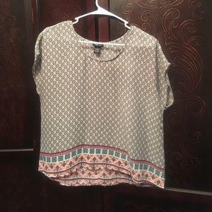 Tops - Rue 21 Aztec looking dress shirt