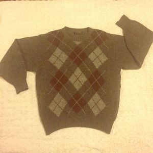 Price Firm! VTG Brooks Brothers Gray Wool Sweater