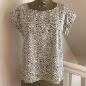 Forever21 Zebra print top, size small