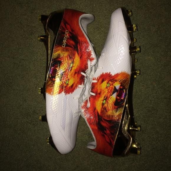 online store feeac fcbff adidas Other - Adidas Adizero 5 star gold lion football cleats🏈