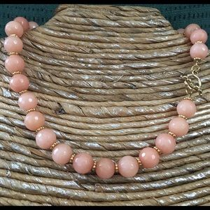 Jewelry - 🛍🌷NEW🌷Natural Peach Jade Necklace✨✨✨