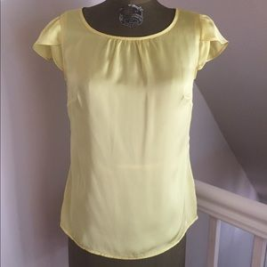 Merona top. Canary yellow. Size small.