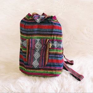 Handwoven Mexican Backpack