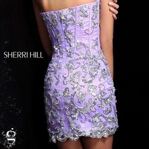 Sherri Hill 2974 Two in One Formal Dress.