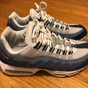 Men's Nike Air Max 95 Navy Blue/Blue/White Sz 11