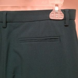 Narciso Rodriguez Pants - Narciso Rodriguez: Teal pants w/ black stripe