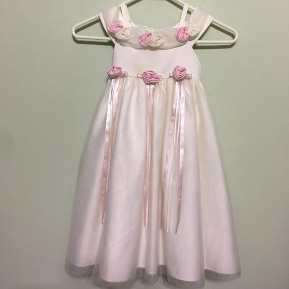 a8df5b653d Cinderella Other - ⭐️SALE⭐ Ivory Pink Cinderella Flower Girl Dress
