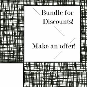 Other - Make Bundles; Make offers- and SAVE!