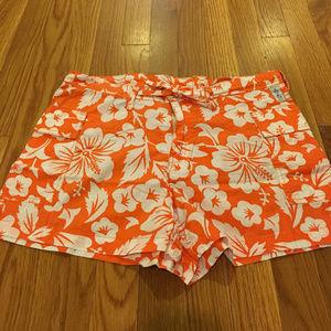 Pants - Hawaiian print board shorts