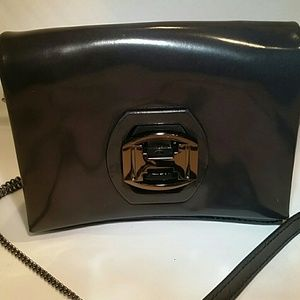 6cba78916ad Halston Heritage Bags - Halston Heritage Gunmetal Crossbody Bag