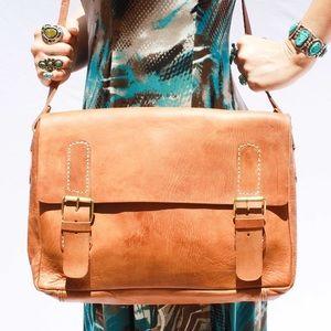 Handbags - H/P🎉10/10 Leather Laptop Handmade Bag HM0012