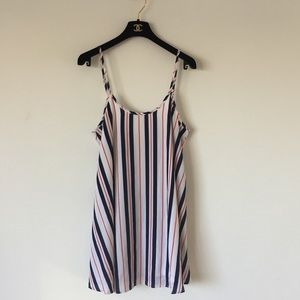 Show Me Your Mumu Striped mini dress size small
