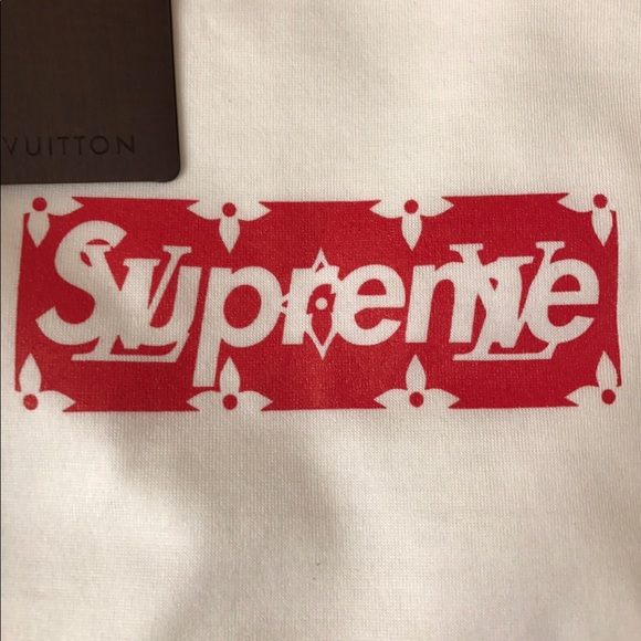 Supreme Louis Vuitton Box Logo