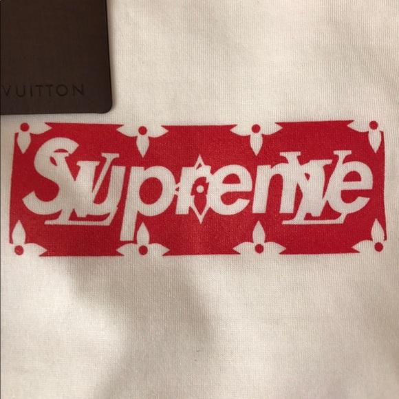 Supreme Louis Vuitton Box Logo