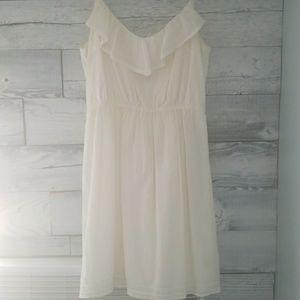 AEO White Dress