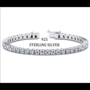 Jewelry - ISO STERLING SILVER TENNIS BRACELET