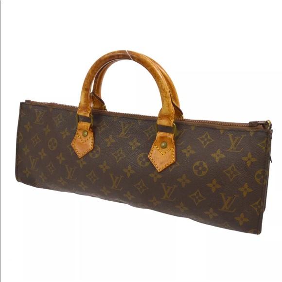 5a6c542caac4 Louis Vuitton Handbags - RARE!!Authentic Louis Vuitton Sac Triangle Satchel
