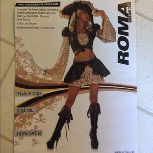 """Pirate costume """"Caribbean Corsair"""""""