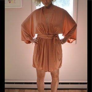 Dresses & Skirts - Vintage kimono style wrap dress